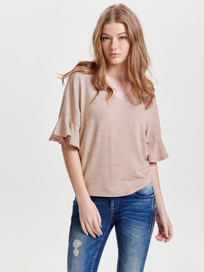 OVERSIZE 3/4 SLEEVED TOP
