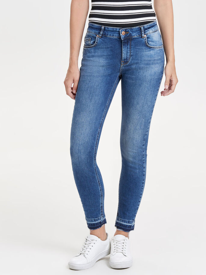 KENDELL REG ANKLE SKINNY JEANS, Medium Blue Denim, large