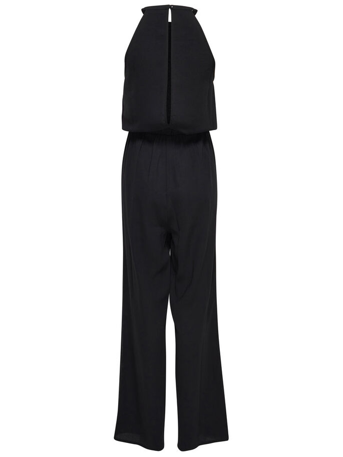 PAILLETTEN JUMPSUIT, Black, large