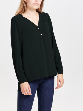 SOLID LONG SLEEVED SHIRT