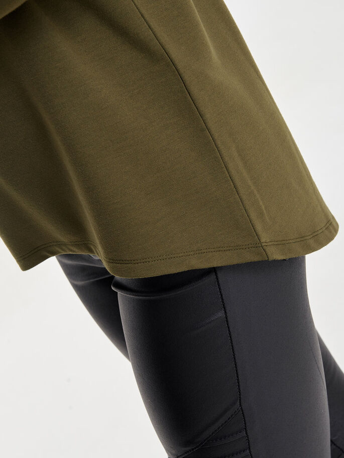 DETAILED SWEATSHIRT, Military Olive, large