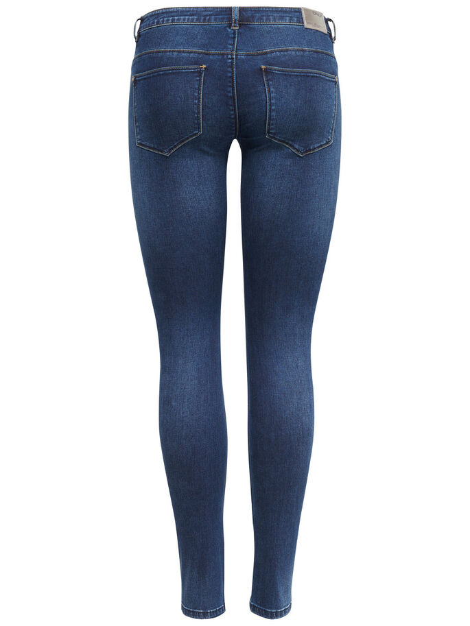 CORAL SL SKINNY FIT JEANS, Dark Blue Denim, large