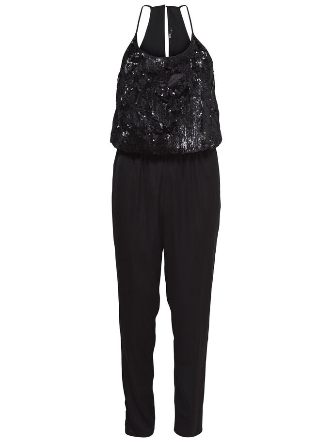 DETAILED JUMPSUIT, Black, large