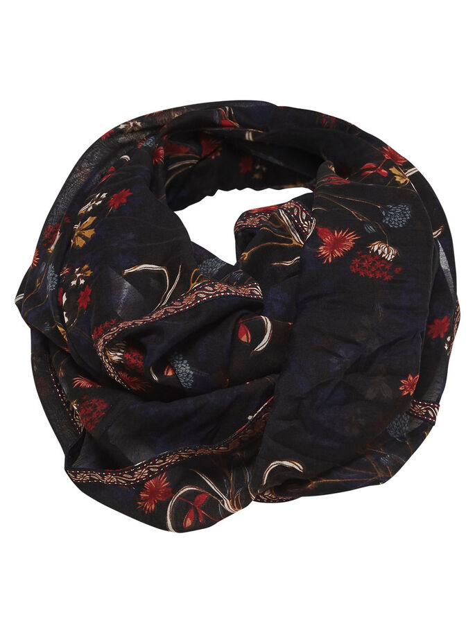 PRINTED TUBE SCARF, Withered Rose, large