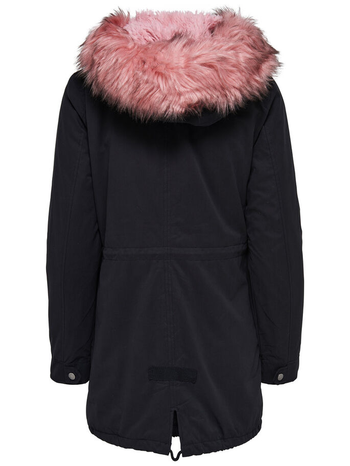 LANG PARKA, Black, large