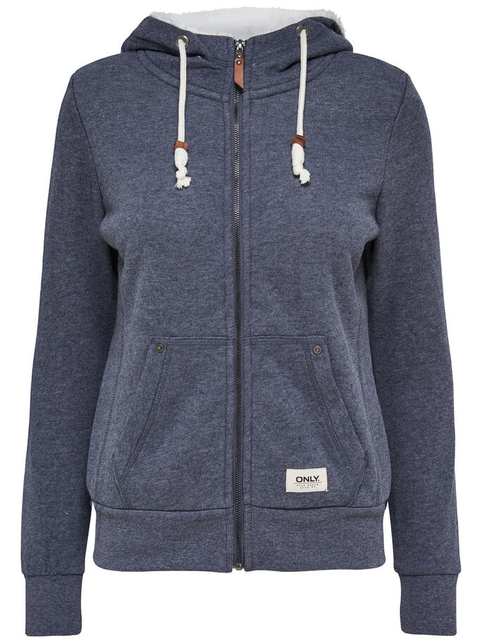 SWEAT HOODIE, Night Sky, large