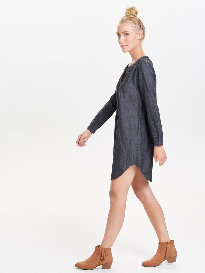 LONG TUNIC, Black, large