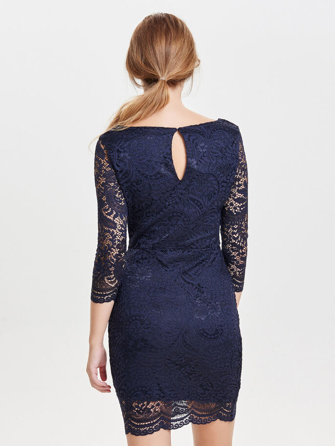 LACE PARTY DRESS, Night Sky, large