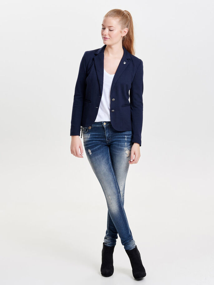 KLASSISK BLAZER, Night Sky, large