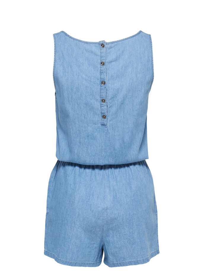 MOUWLOZE PLAYSUIT, Medium Blue Denim, large