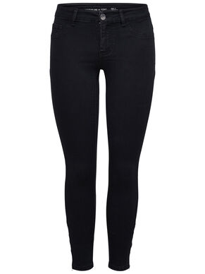 JDY EAGLE ZIP ANCLE SKINNY FIT JEANS