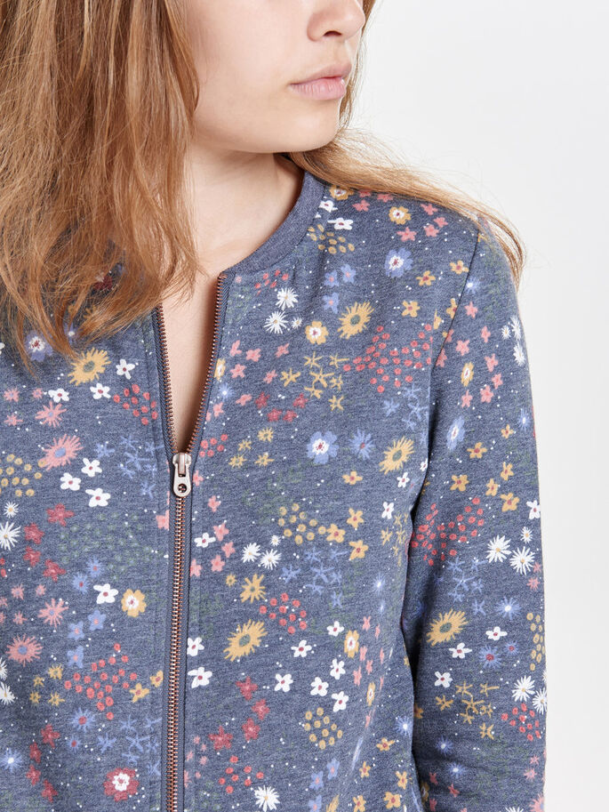 BOMBER SWEATJAKKE, Night Sky, large