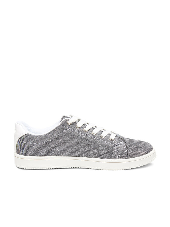 GLITTER SNEAKERS, Gunmetal, large