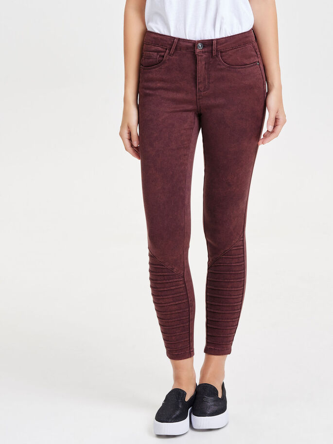 ROYAL RALLY COLOUR SKINNY JEANS, Fudge, large