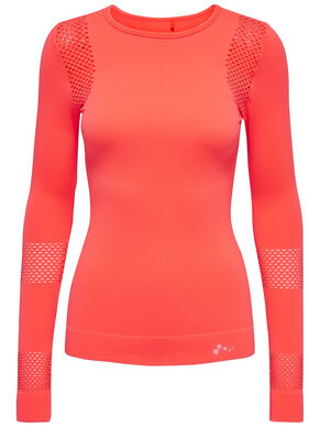LONG SLEEVED SEAMLESS SPORTS TOP
