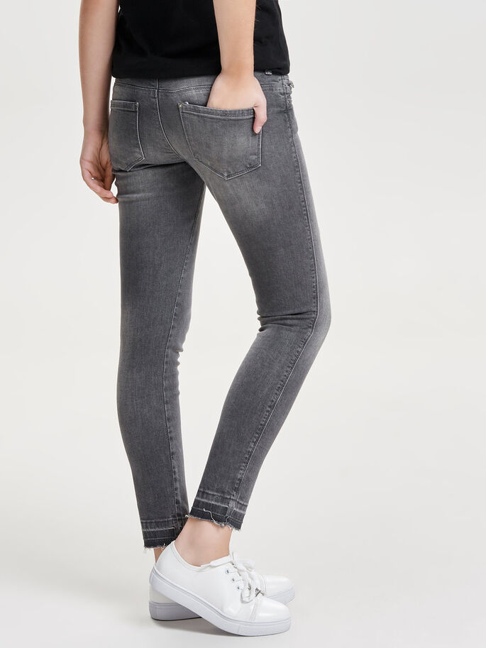 CORAL SUPERLOW ANKLE SKINNY JEANS, Medium Grey Denim, large