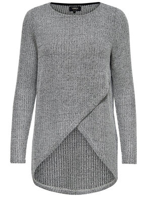 TWIST KNITTED PULLOVER