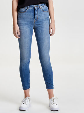 POSH HW CROP SKINNY FIT JEANS
