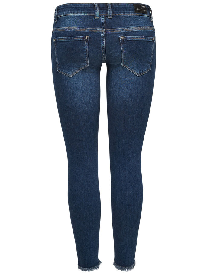 CORAL SUPERLOW ANKLE SKINNY JEANS, Medium Blue Denim, large