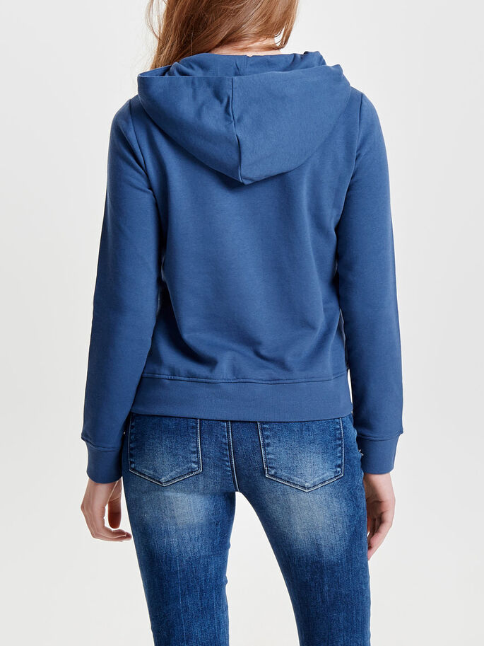 SWEAT HOODIE, Ensign Blue, large