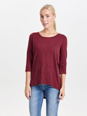 LONG 3/4 SLEEVED TOP
