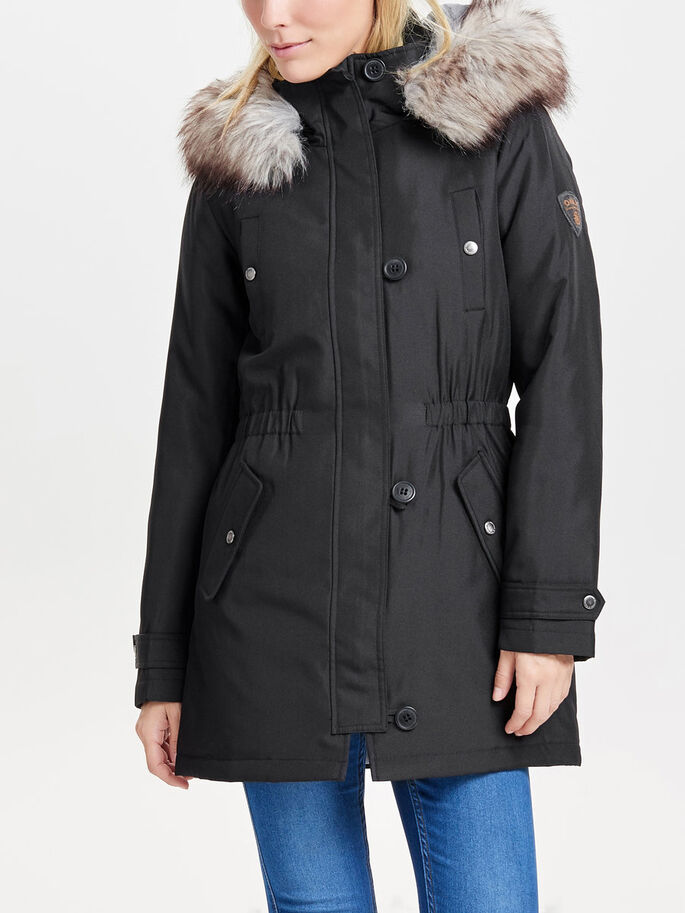 LANGER PARKA, Black, large