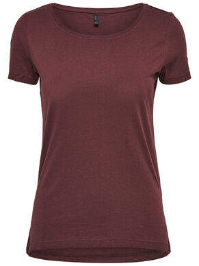 BASIC SHORT SLEEVED TOP