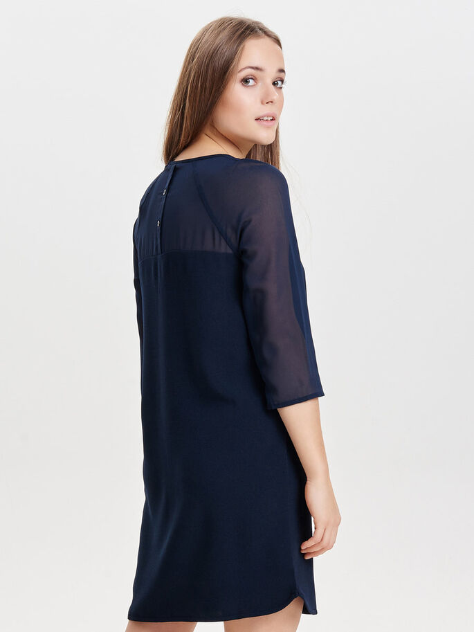 MIX SHORT DRESS, Night Sky, large