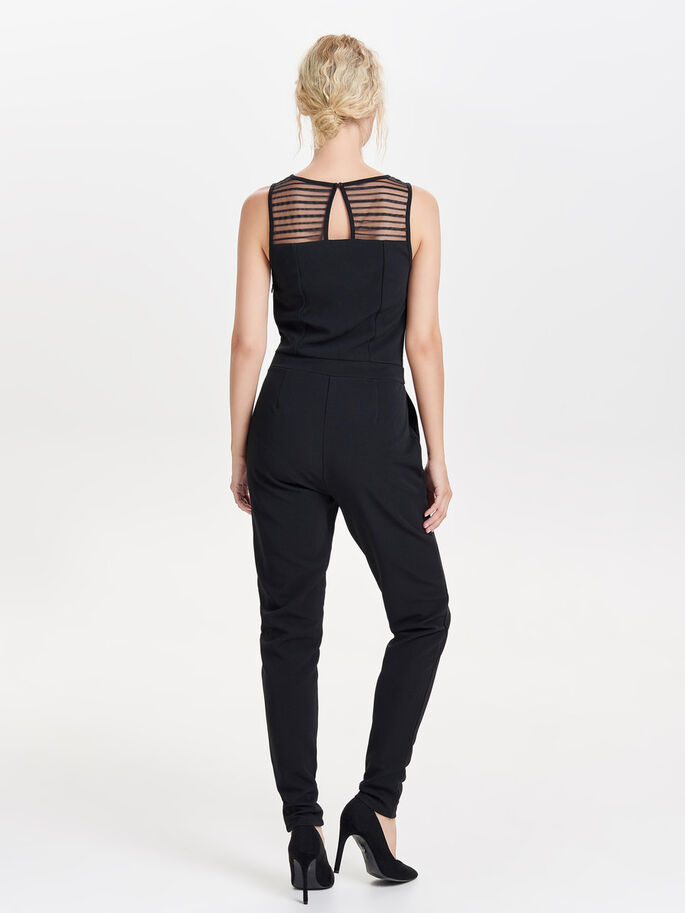 ENFÄRGAD JUMPSUIT, Black, large