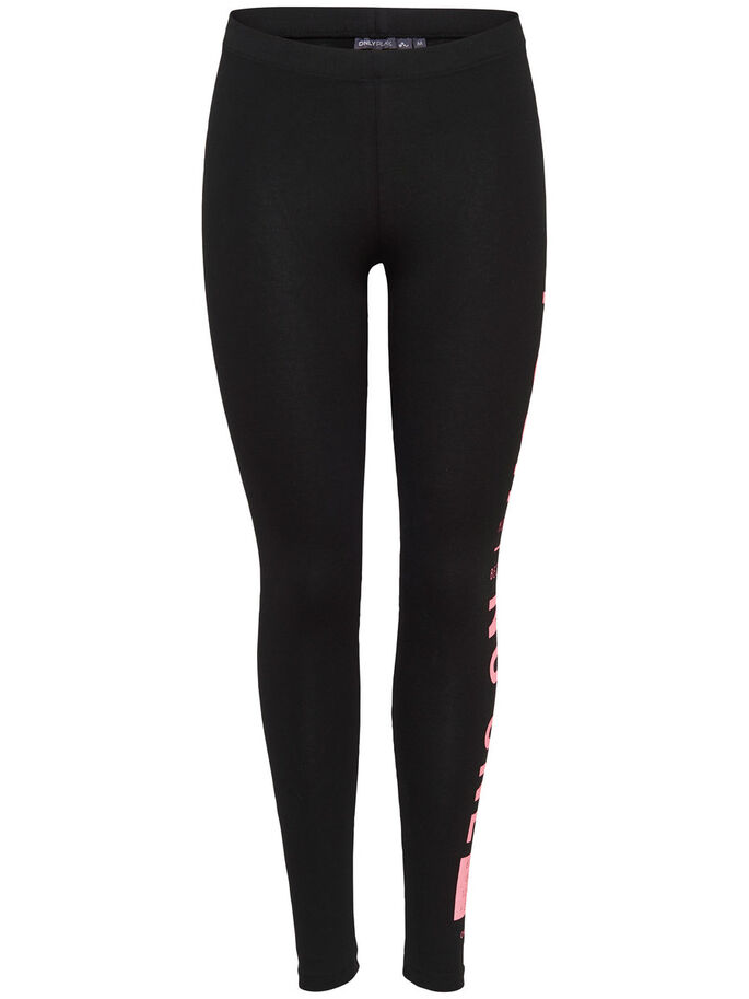 JERSEY  SPORTLEGGING, Black, large