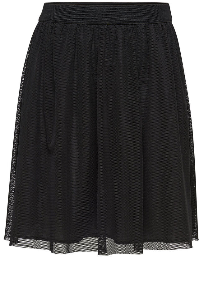CORTA FALDA, Black, large