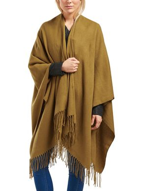 SOLID PONCHO