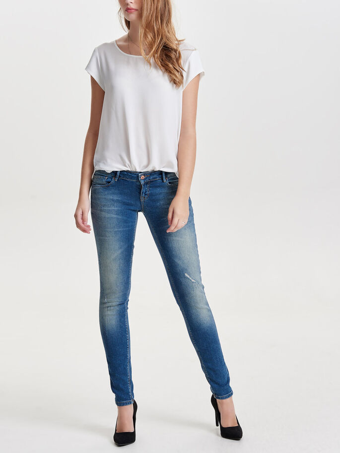 CORAL SL JEAN SKINNY, Light Blue Denim, large
