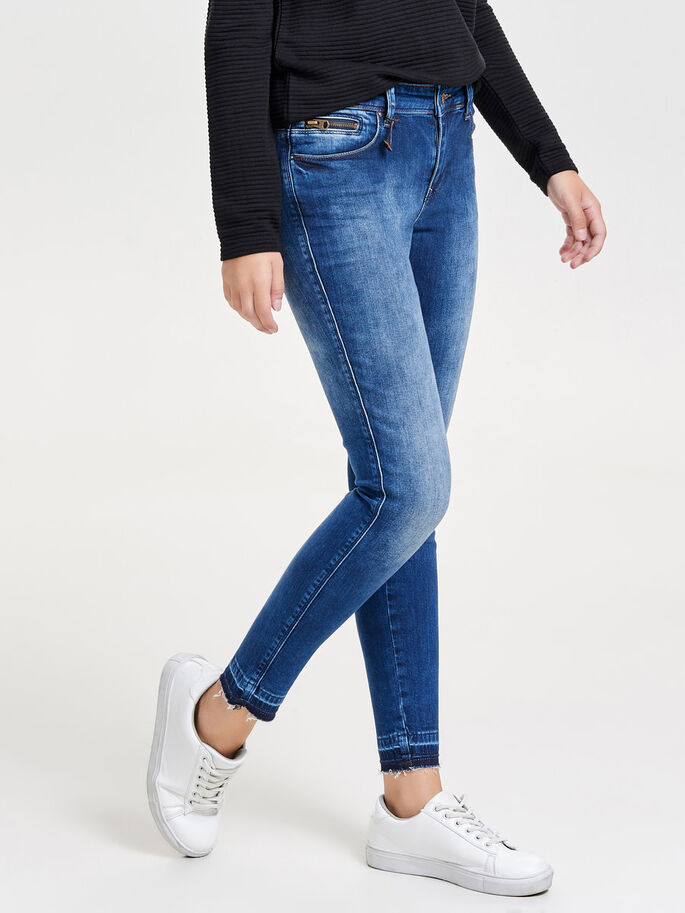 CARMEN REG ANKLE SKINNY JEANS, Medium Blue Denim, large