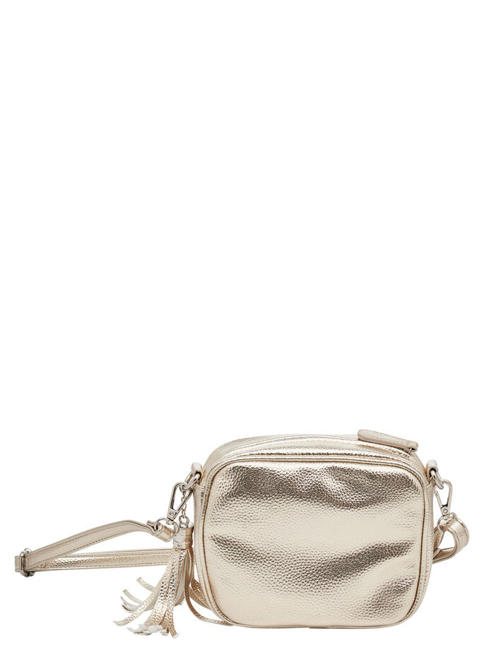 SHINY CROSSBODY BAG, Silver, large