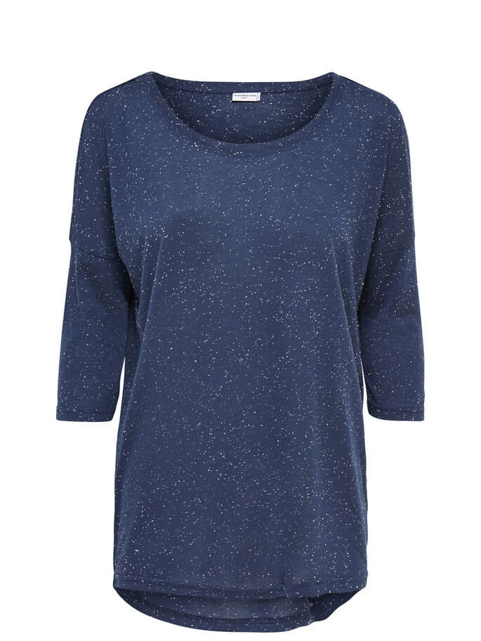 EXTRAGRANDE CAMISETA 3/4, Mood Indigo, large