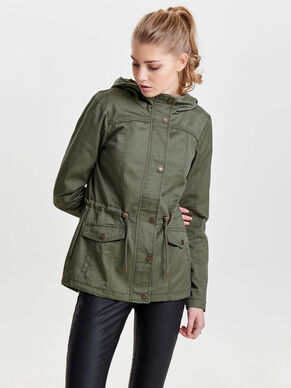 SHORT SPRING PARKA COAT