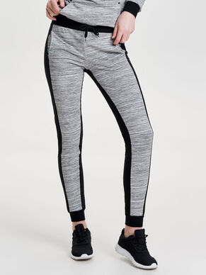 CONTRAST COLORED SWEAT PANTS
