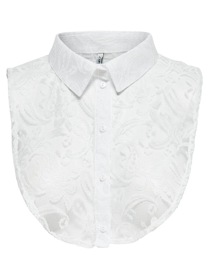 LACE COLLAR, Bright White, large