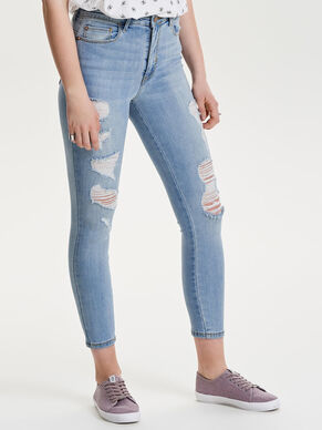 CARMEN HIGH ANKLE SKINNY FIT JEANS