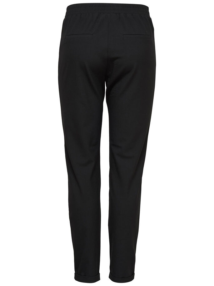 DETAILED TROUSERS, Black, large