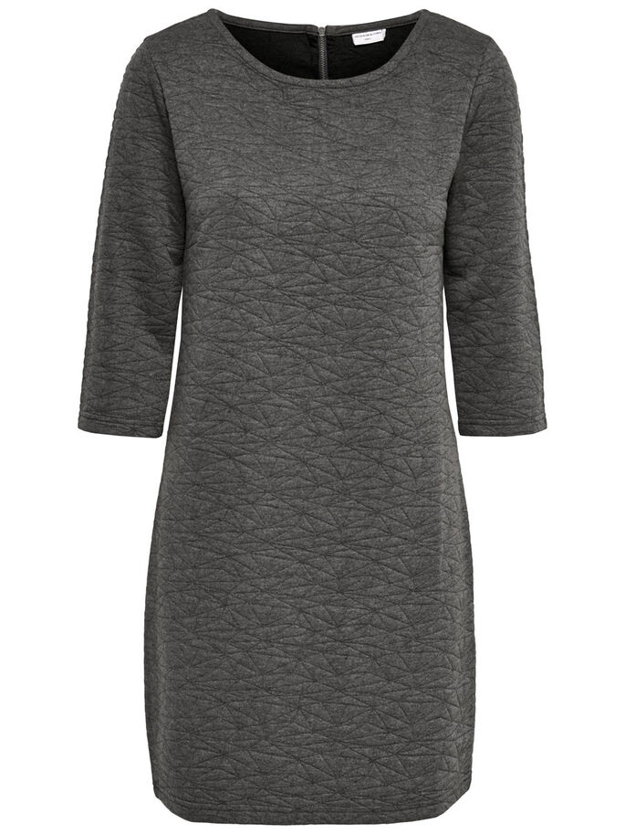 3/4 ÆRMET SWEATKJOLE, Dark Grey Melange, large