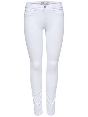 ULTIMATE SOFT REG. WHITE SKINNY FIT JEANS
