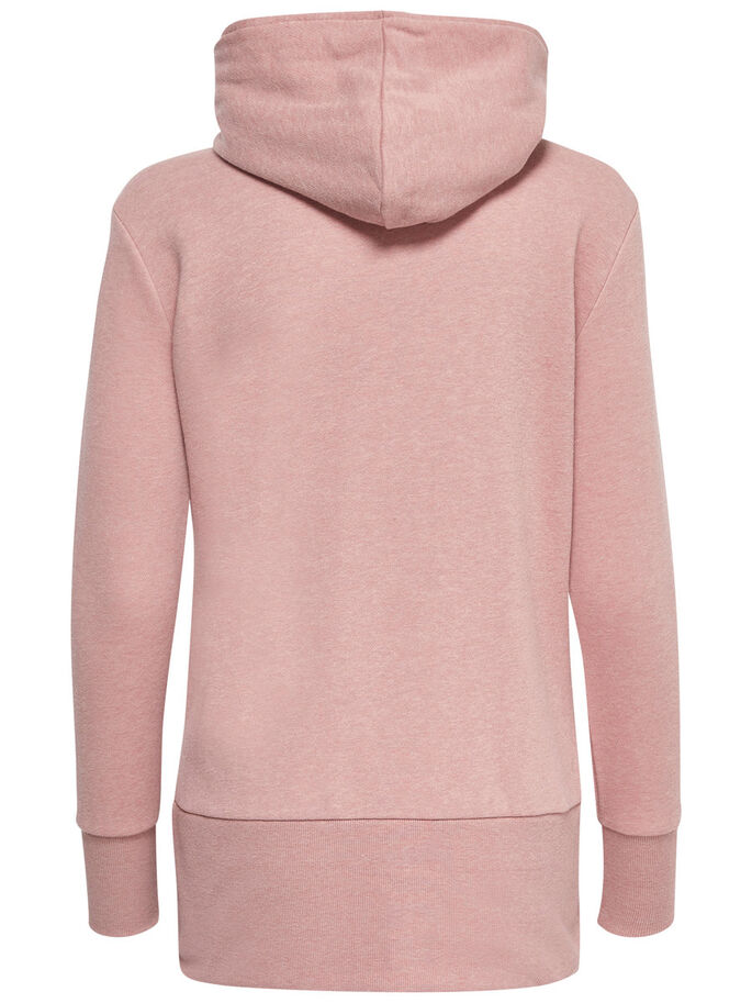 LARGA SUDADERA, Ash Rose, large