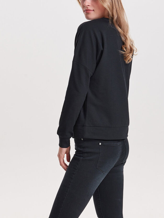 KERST SWEATSHIRT, Black, large