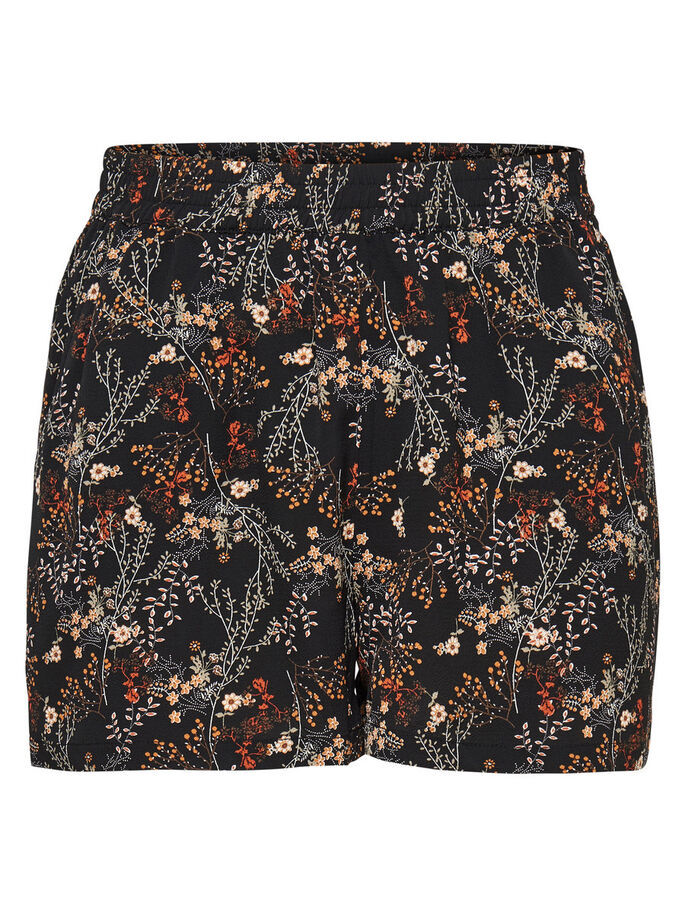 IMPRIMÉ SHORTS, Black, large