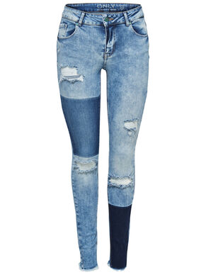ULTIMATE REG PATCH SKINNY FIT JEANS