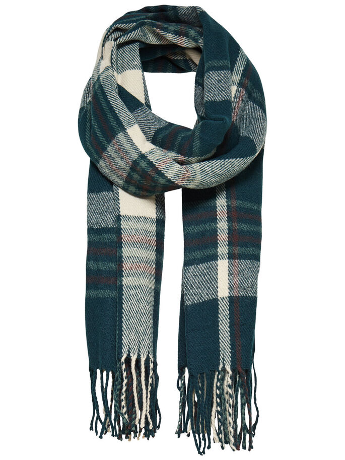 CHECKED SCARF, Ponderosa Pine, large