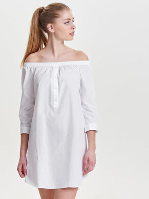 OFF-SHOULDER- KLEID
