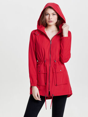 LONG SPRING PARKA COAT